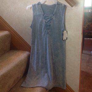*2for$5 Art Class Denim Look Girls' Dress Sz 10-12